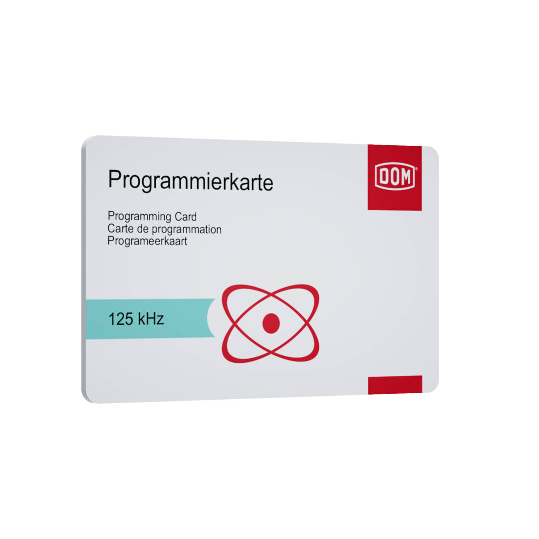 Programming Card