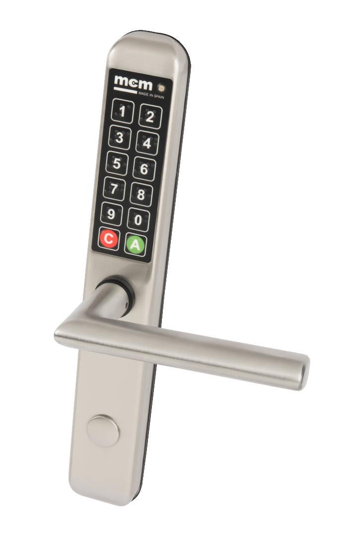 easyKEY SLIM digital handle.