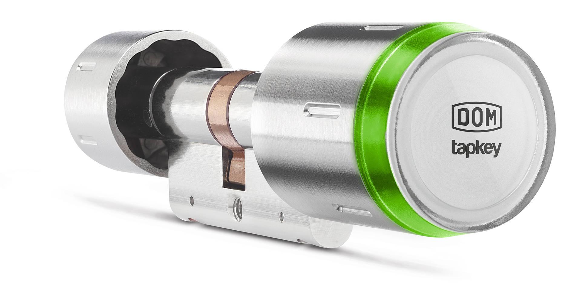 DOM Tapkey Pro European Profile Double Cylinder 1-Sided Readability