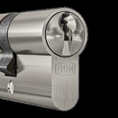 DOM Cilinder Dull Nickel