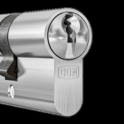 DOM Cilinder Matt Chrome