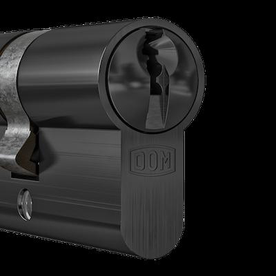 DOM Cilinder Mat Black