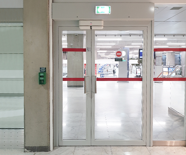 Safety of airport emergency exits