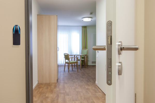 Card readers for Care Homes doors