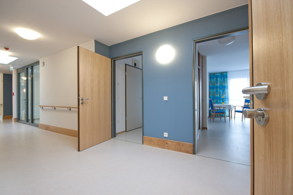 Control your access in care homes