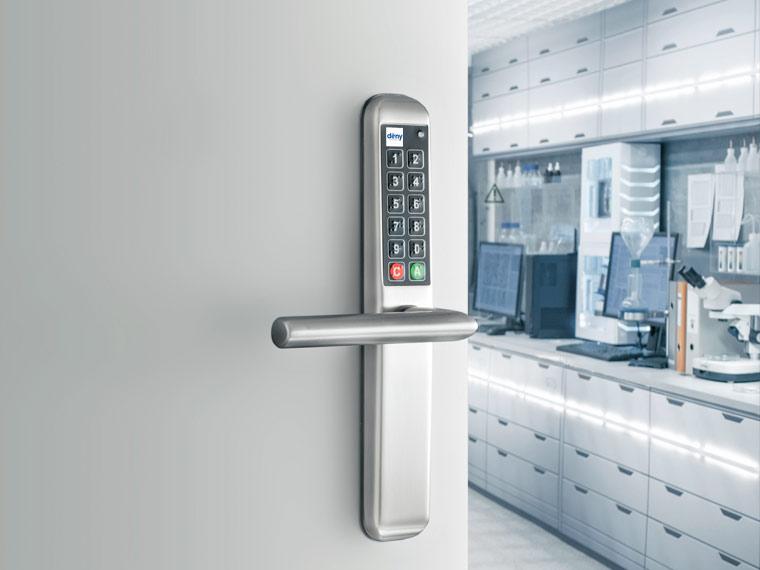 Pharmacy door or secure rooms