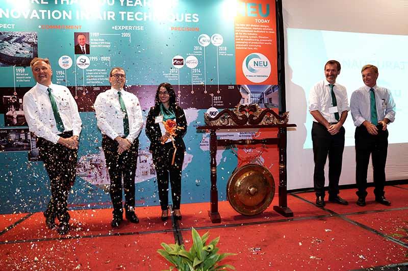 Inauguration of neu jkf indonesia
