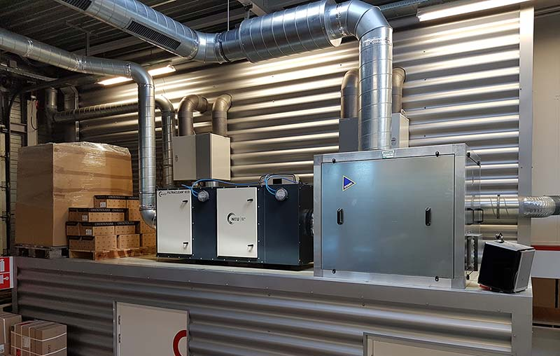 Filtration Installation at DOM Security