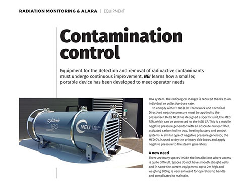 Article - Nuclear Engineering International