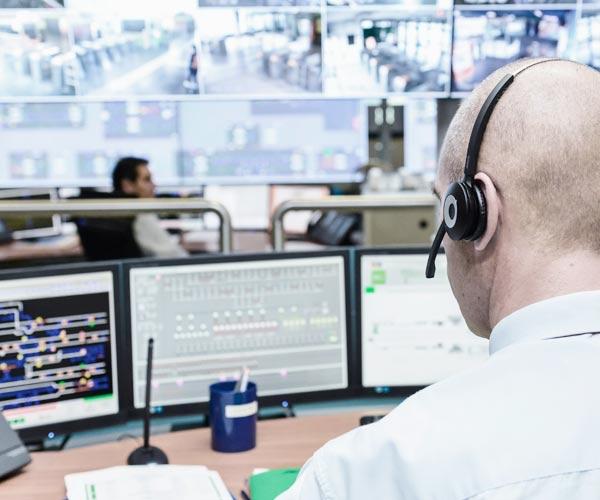 Sécurité des salles de contrôle d'un aéroport