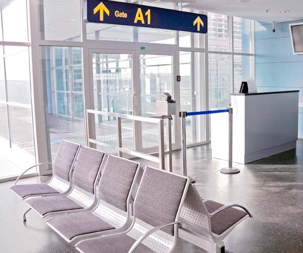 Gestion des accès dans les aéroports