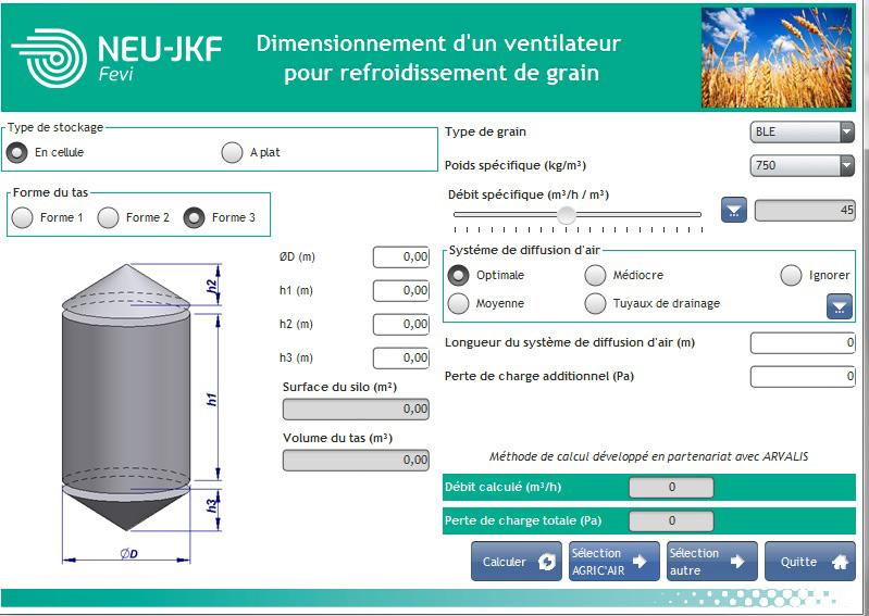 dimensionner un ventilateur