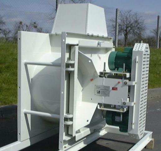 ventilateur pour l'agroalimentaire