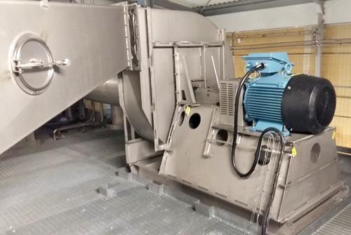 ventilateur en agroalimentaire