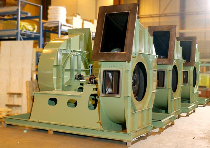 ventilateur pour process métal