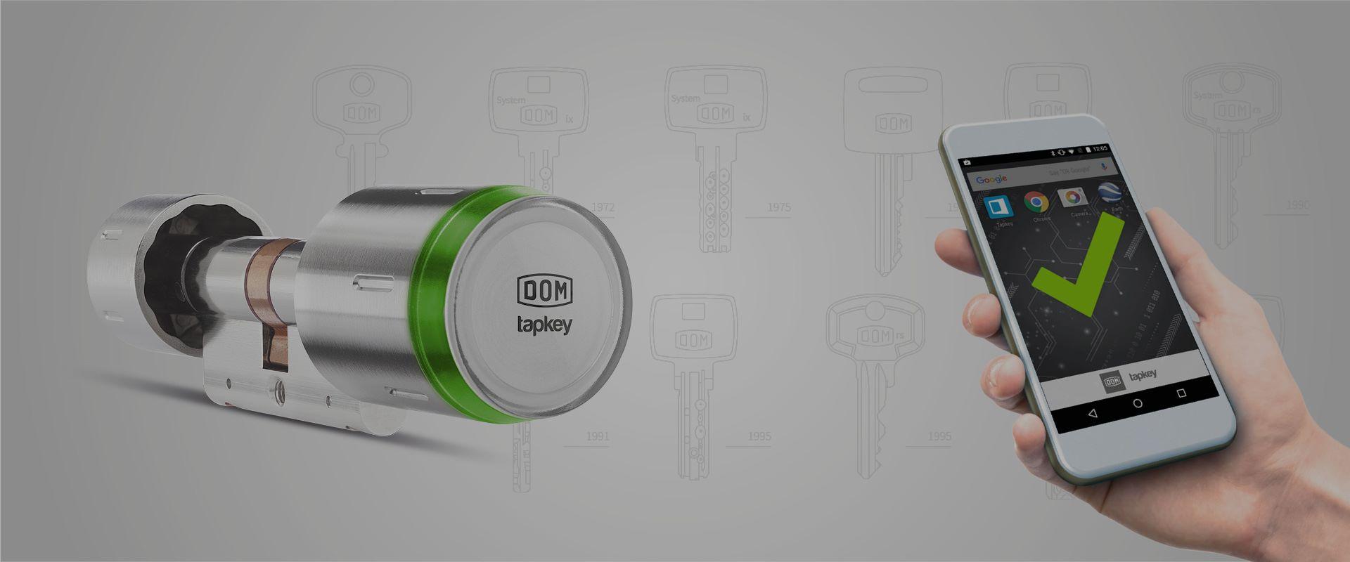 DOM Tapkey   Cilindro di sicurezza digitale