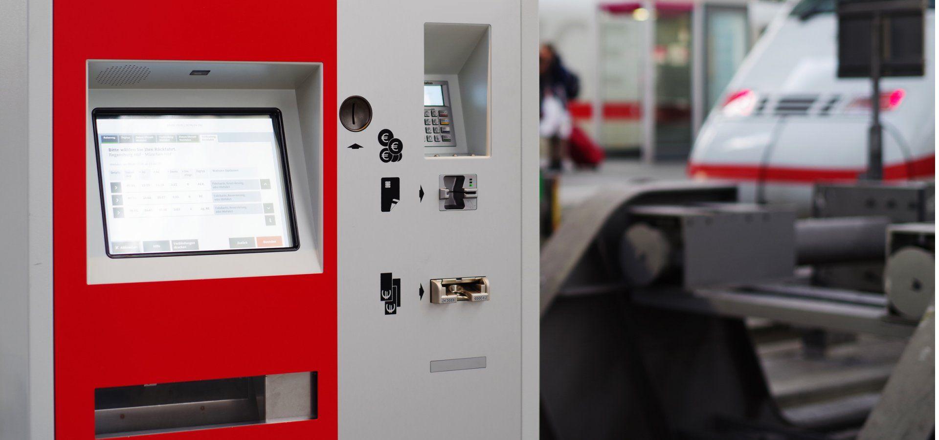 Ticketing machine