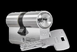 DOM ix Twido Double Cylinder with Key