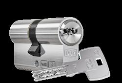 DOM ixTwinStar Double Cylinder with Key