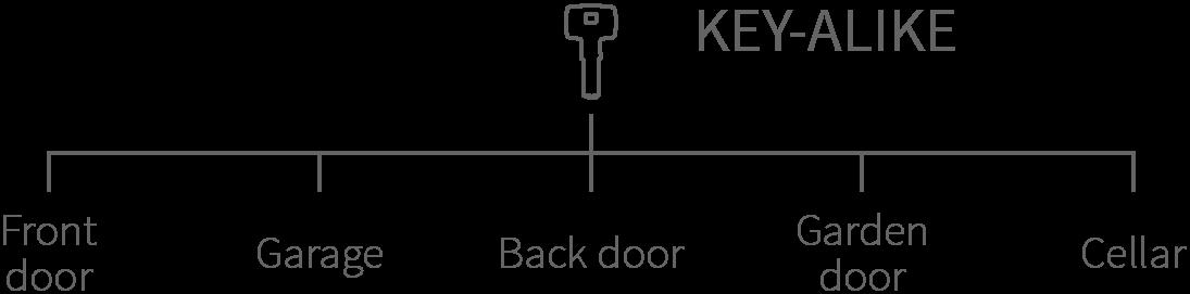 key alike system graphic