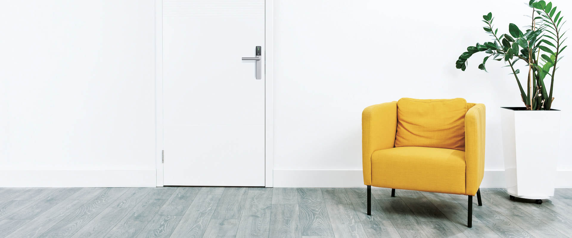 DOM ENiQ Guard digitale deurbeslag