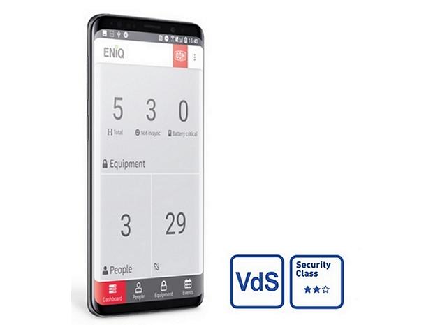 ENiQ App VdS 2 stars certified