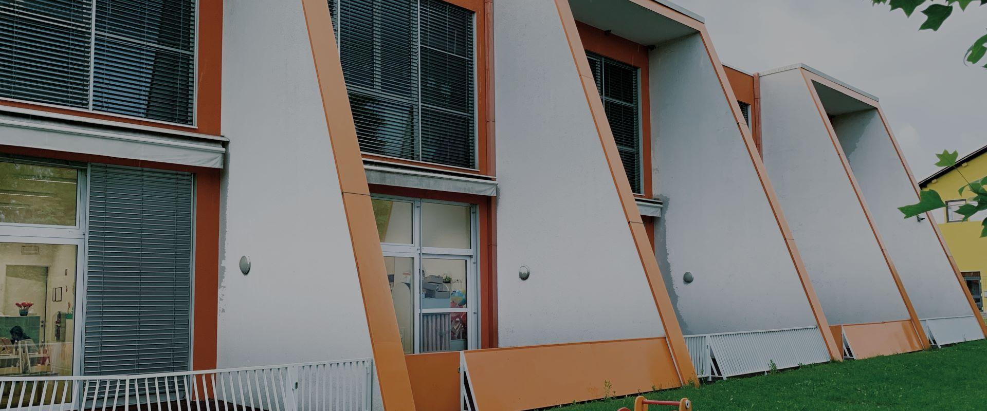 Zarja Kindergarten from the back